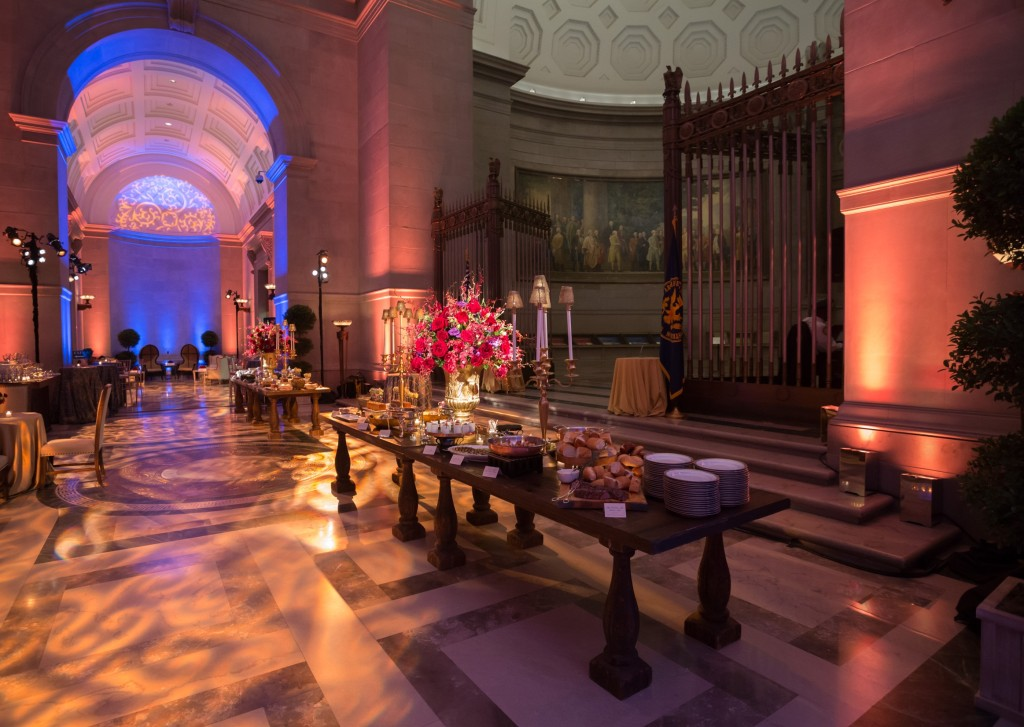 A reception in the Rotunda Galleries