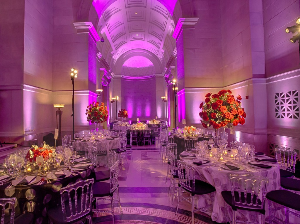 Rotunda Galleries set for a gala dinner