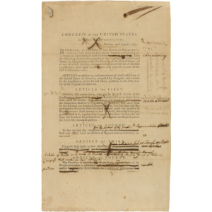 Bill of Rights revisions 1