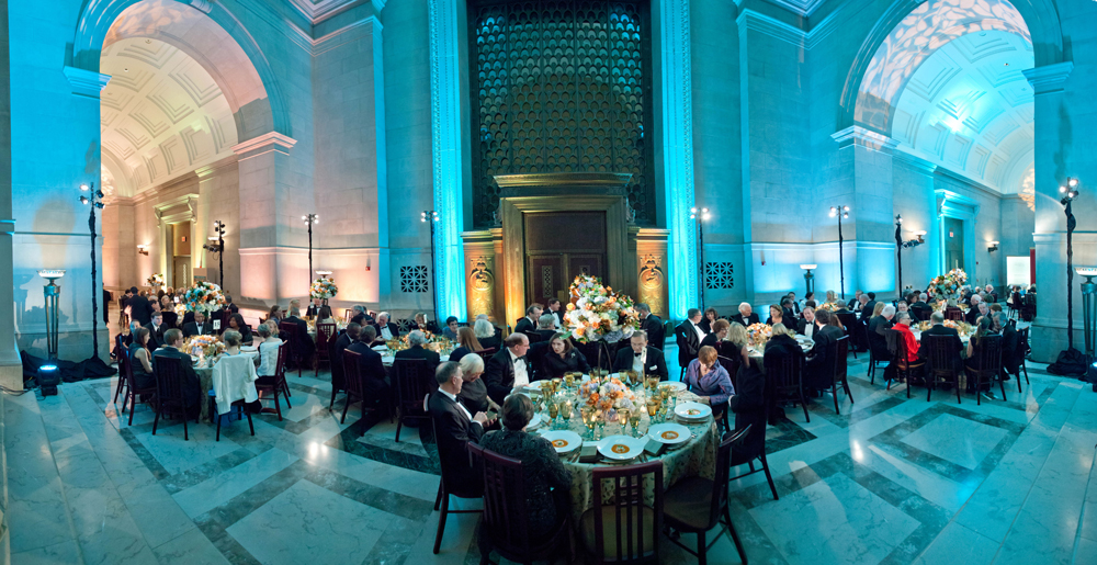 Gala dinner in the National Archives Rotunda